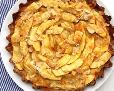 Saftiger Apfelkuchen - vegan, gluten- und laktosefrei