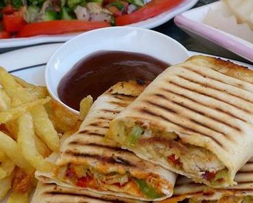 Hühnchen Shawerma mit Pommes - Shawarma Ferech ma batatis