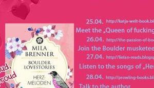 """{Blogtour} Mila Brenners """"Herzmelodien"""" Listen songs"""