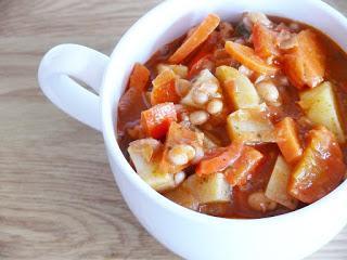 Bohnen-Gemüse-Eintopf (oder Suppe ;-))