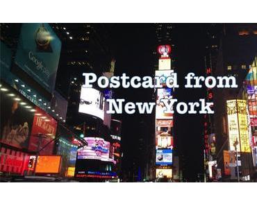 Postkarte aus…? New York!