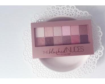 | Maybelline The blushed nudes Palette