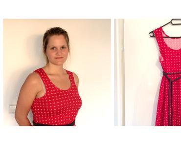 {Nähen} Jersey-Anker-Kleid