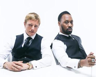 Banks And Steelz: Men in Black and White