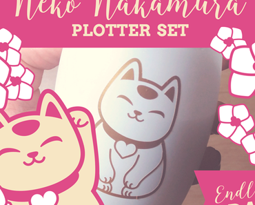 Neko Nakamura Plotter Datei jetzt im Shop!