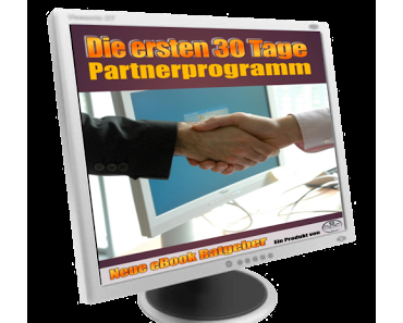 Partnerprogramm 30 Tage bis zur eigenen UG
