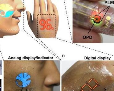 Der Körper als Wearable: die optoelektronische Haut