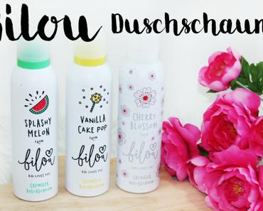Review | Bilou Duschschaum von BibisBeautyPalace - Vanilla Cake Pop, Splashy Melon und Cherry Blossom