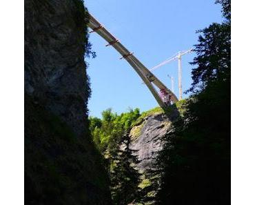 Die neue Taminabrücke