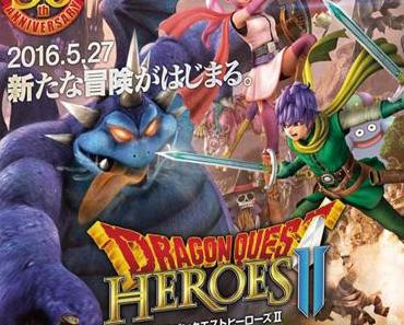 """Dragon Quest Heroes II: The Twin Kings and the Prophecy's End"" – Spezial Trailer zum 30. Geburtstag veröffentlicht"
