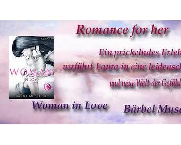 [Blick ins Buch] Bärbel Muschiol - Woman in Love