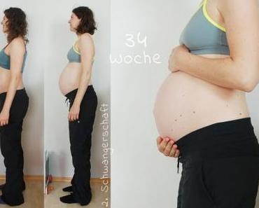 {Schwangerschaft #2} Woche 34