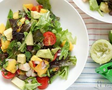 Avocado-Garnelen-Salat