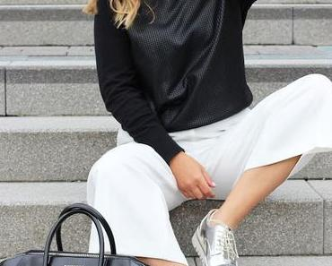 OUTFIT – WHITE CULOTTES.