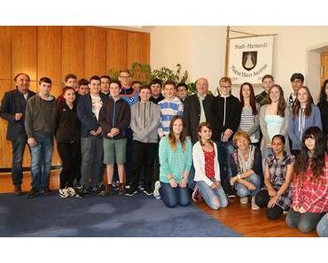 Politik hautnah – 4. Kl. NMS Mariazell bei Bürgermeister Seebacher