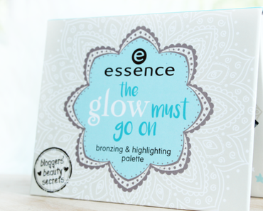 Essence Bloggers' Beauty Secrets LE - The Glow Must Go On - Bronzing & Highlighting Palette