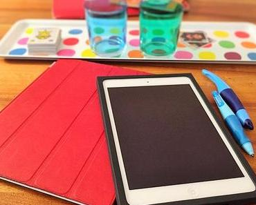 Top ausgerüstet und sicher verpackt: Der Grosse hat nun ein eigenes iPad
