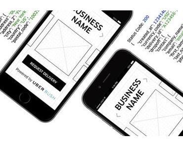 Uber öffnet UberRUSH API für jeden Entwickler