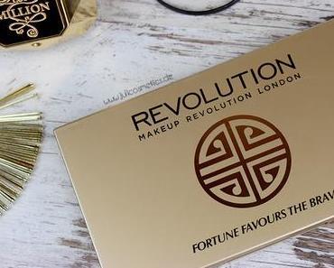 Makeup Revolution // Fortune Favours The Brave // Review & AMU