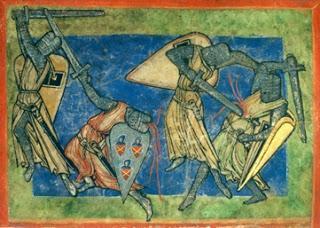 Nibelungen Sage 24/28 | Wie die Burgunden mit den Hunnen im Saal stritten
