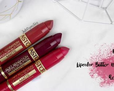 Astor Lipcolor Butter Matte // Review