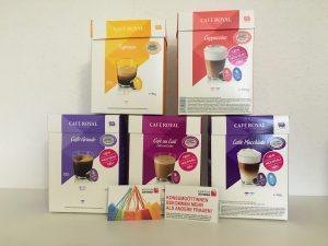 Konsumgöttinnen: Kaffeekapseln von Cafè Royal für die Dolce Gusto Maschine