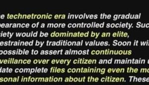 transhumanistische Weltdiktatur