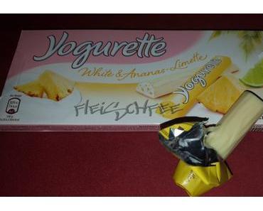 Yogurette White & Ananas-Limette