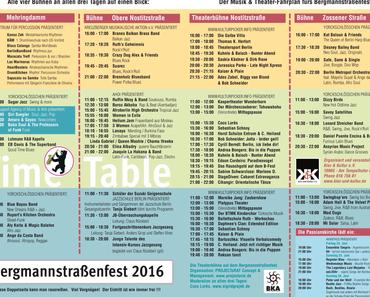 Bergmannstraßenfest vom 24.6.-26.6.16