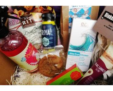 Unboxing: Vegan-Box Juni 2016