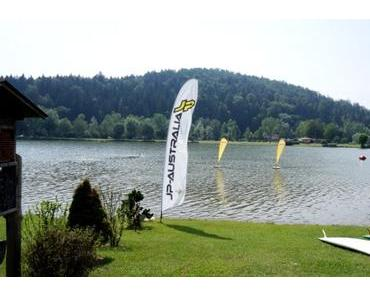 Stand Up Paddling am Sulmsee