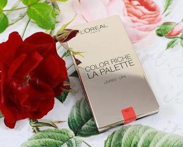 L'Oréal Color Riche // La Palette Red