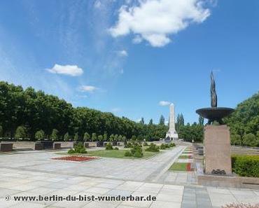 Das Sowjetische Ehrenmal in Berlin-Pankow