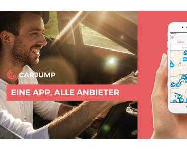 Carsharing App Carjump expandiert in 3 Länder