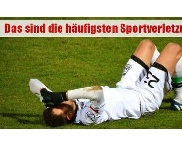 Verstauchung, Bruch & Co.: Die häufigsten Sportverletzungen