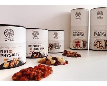 WYLD Porridge und Snacks – das neue Sortiment