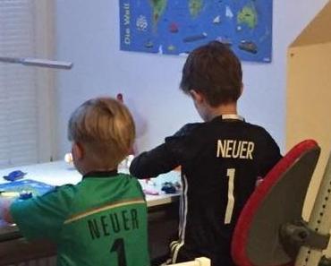 Im Fußball-Fieber