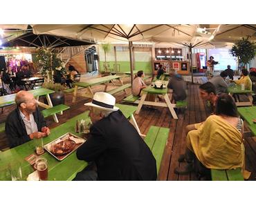 Ein Münchner Biergarten in Jerusalem