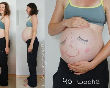 {Schwangerschaft #2} Woche 40