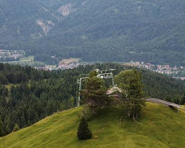 Tour zum Kranzberg, Wildensee, Gebirgsjägerdenkmal, Luttensee, Mittenwald
