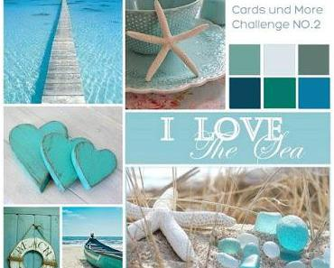 Cards und More Shop Blog Challenge NO.2 | Moodboard | Mixed Media Journal