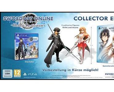 """""""Sword Art Online: Hollow Realization""""  – Europäische Collector's Edition vorgestellt"""