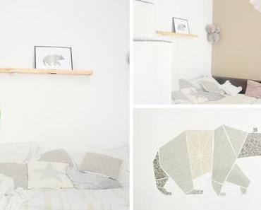 DiY Origami Bär Collage