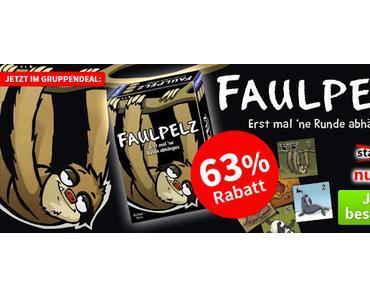 Spiele-Offensive Aktion - Gruppendeal Faulpelz - Erst mal ne Runde abhängen