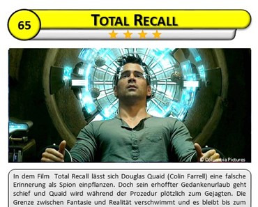 Total Recall (Filmphysik)
