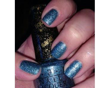[Nails] Blue Friday mit O.P.I NL M1 TIFFANY CASE & Stamping