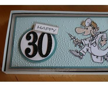 Zum 30. Geburtstag.................