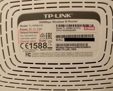 dd-wrt auf dem TP-Link TL-WR841N