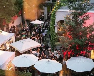 Sommer, Garten, Sonnenschein: Das Villa Stuck Sommerfest 2016