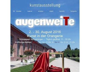 """Kunst in der Orangerie - Ausstellungsserie """"augenweiTe"""" der Künstlergruppe wieArt vom 2. bis 28. August 2016"""